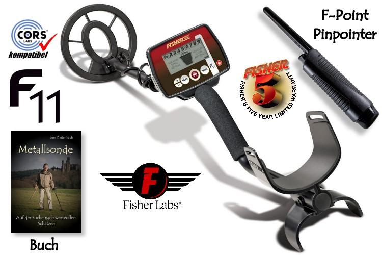 Fisher F11 Metalldetektor Starterpaket